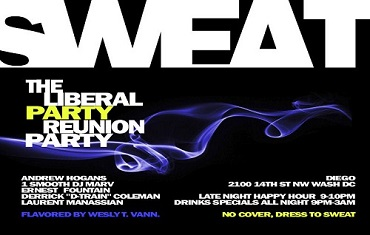 Sweat - The Liberal Party Reunion -  Live in DC